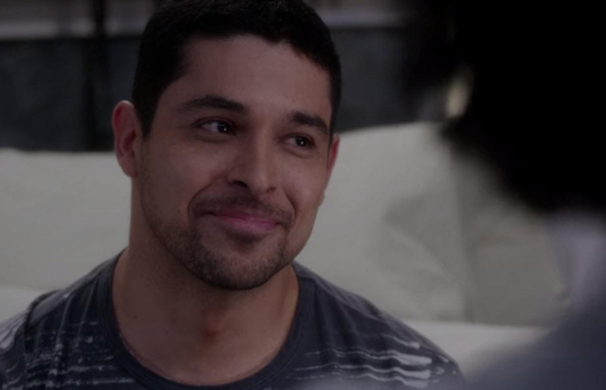 Wilmer Valderrama in 'Grey's Anatomy'