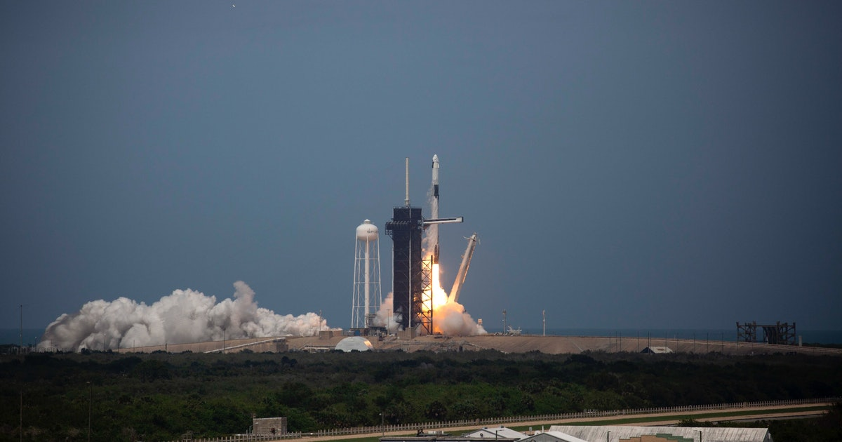 SpaceX and NASA have done it! A crewed mission has successfully launched from U.S. soil