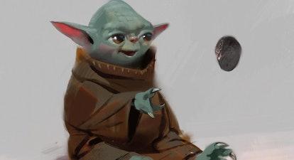Baby Yoda's Original 'Mandalorian' Concept Art Will Give You Nightmares
