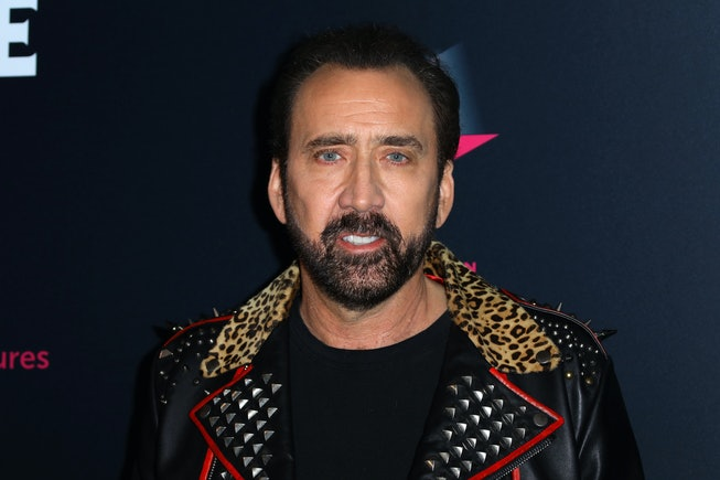 """Actor Nicolas Cage attends the special screening of """"Color Out Of Space"""" at the Vista Theatre on January 14, 2020 in Los Angeles, California."""