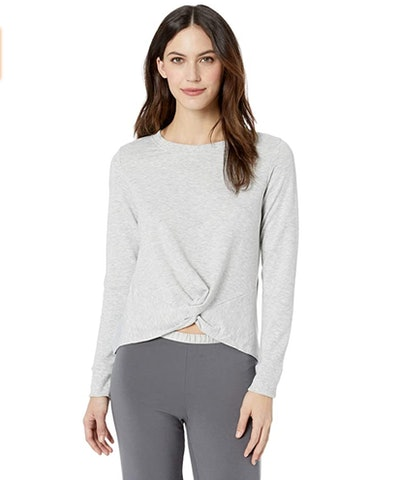 Mae Front Twist Long Sleeve Top