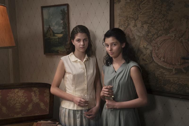 Elena and Lila on My Brilliant Friend