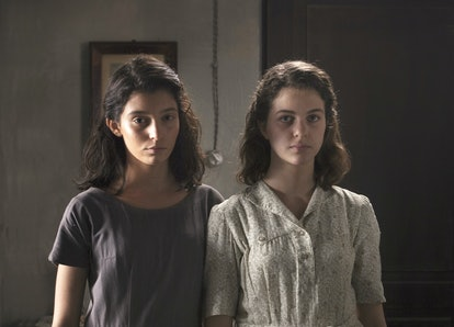 Elena and Lila on My Brilliant Friend