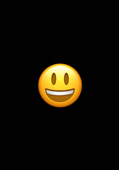 The smiling face emoji often conveys general happiness and good-natured amusement.
