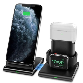 Seneo 3 in 1 Wireless Charging Station for Apple Watch, AirPods Pro/2, iPhone 11 Pro