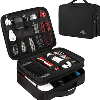 Matein Electronics Waterproof Electronic Accessories Case