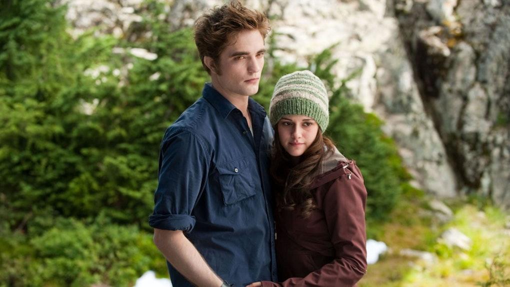 Edward and Bella in 'Twilight' movie