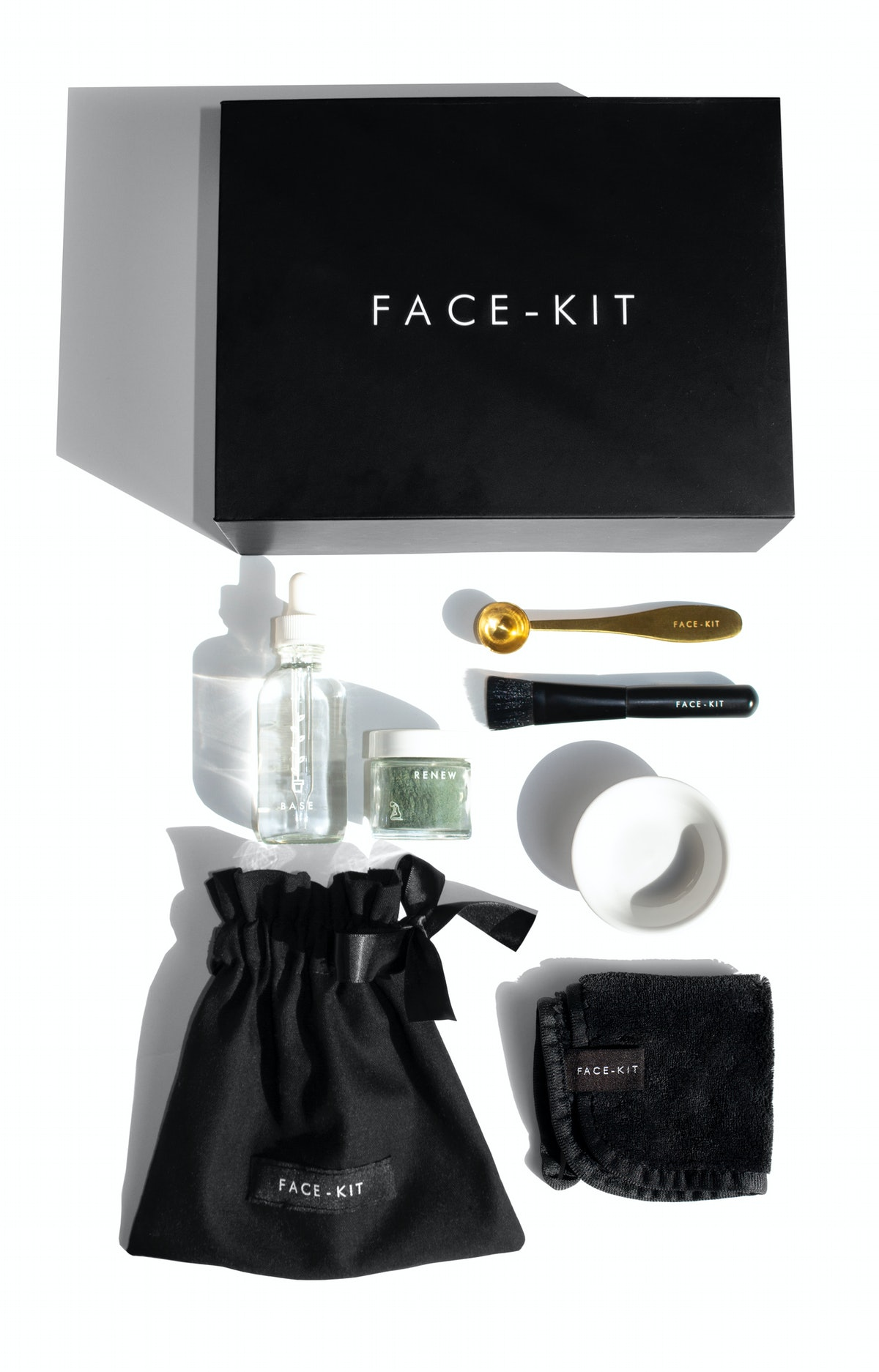 Face mask from new beauty brand Face-Kit.