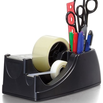 Officemate Heavy Duty Weighted 2-in-1 Tape Dispenser
