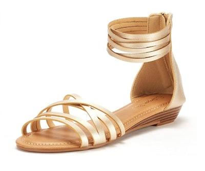 DREAM PAIRS Women's Gladiator Sandal