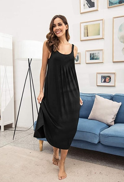 Ekouaer Long Nightgown
