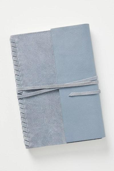 Braided Suede Journal