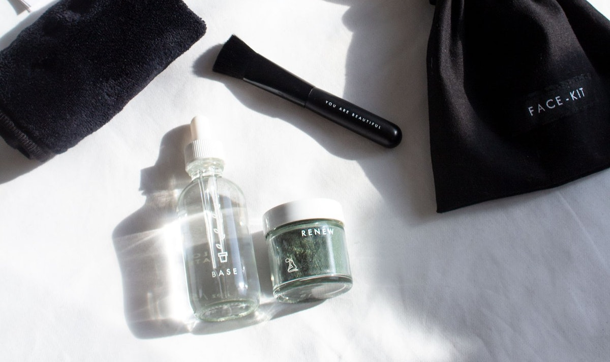 Renew Mask Kit from new beauty brand Face-Kit.
