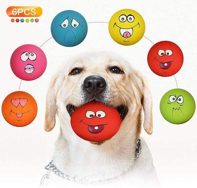 Igreli Pet Toys Squeaker Ball