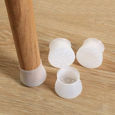 Feeke Silicone Furniture Chair Leg Caps (32-Pieces)
