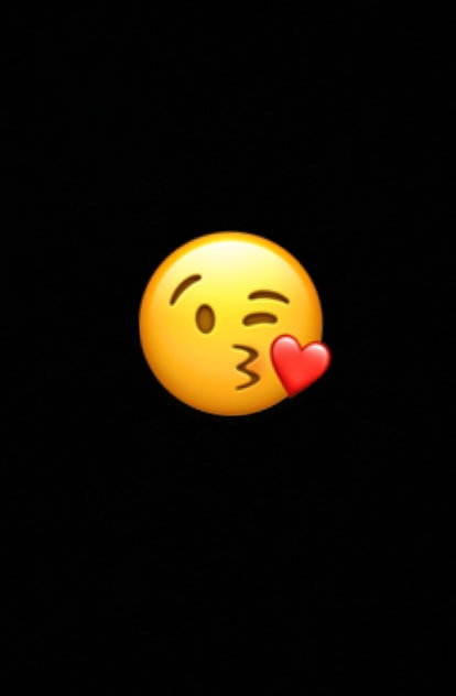 The face blowing a kiss emoji conveys feelings of love and affection more generally.