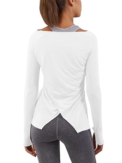 Bestisun Long Sleeve Workout Top