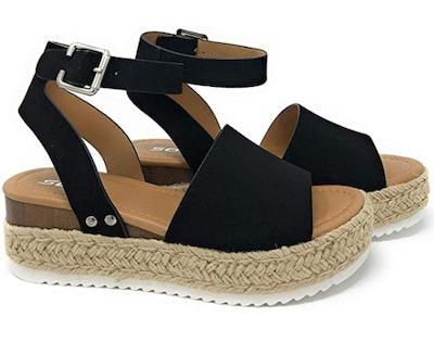 SODA Women's Espadrille Sandal