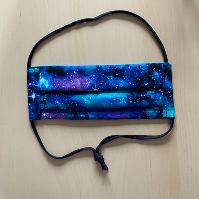 Galaxy Print Face Mask
