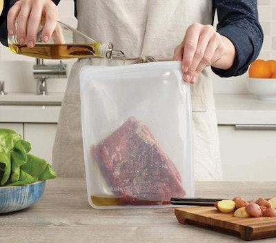 Stasher Silicone 1/2 Gallon Reusable Food Bag