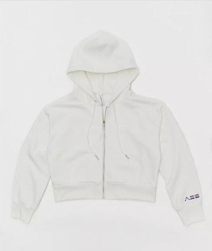 Shrunken Hoodie Sweatshirt