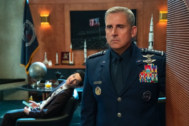 Steve Carrell stars in 'Space Force.'