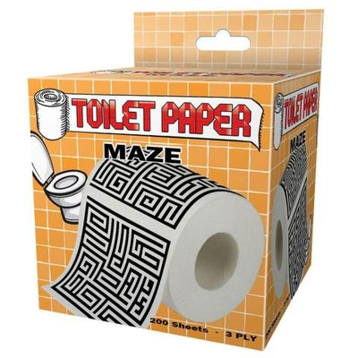 Maze Toilet Paper By Island Dogs