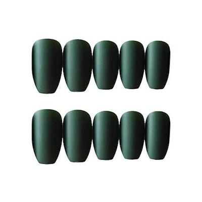 JINDIN Matte Fake Nails (24 Pieces)