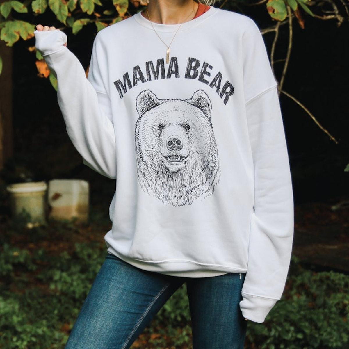 MountainMoverz Mama Bear Women's Sweatshirt