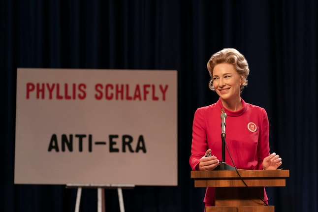 Stop ERA became Phyllis Schlafly's Eagle Forum in Mrs. America.