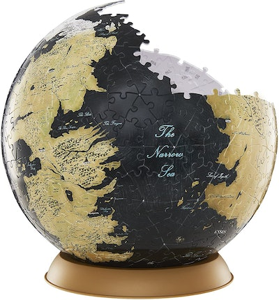 4D Cityscape Game of Thrones Westeros and Essos Globe Puzzle