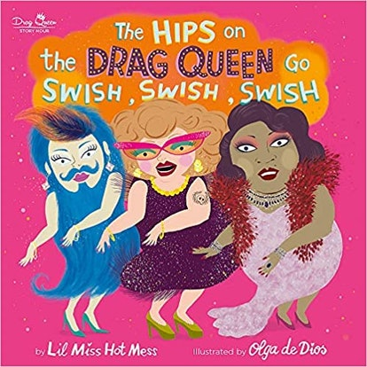 The cover of The Drag Queens On The Bus Go SWish Swish Swish
