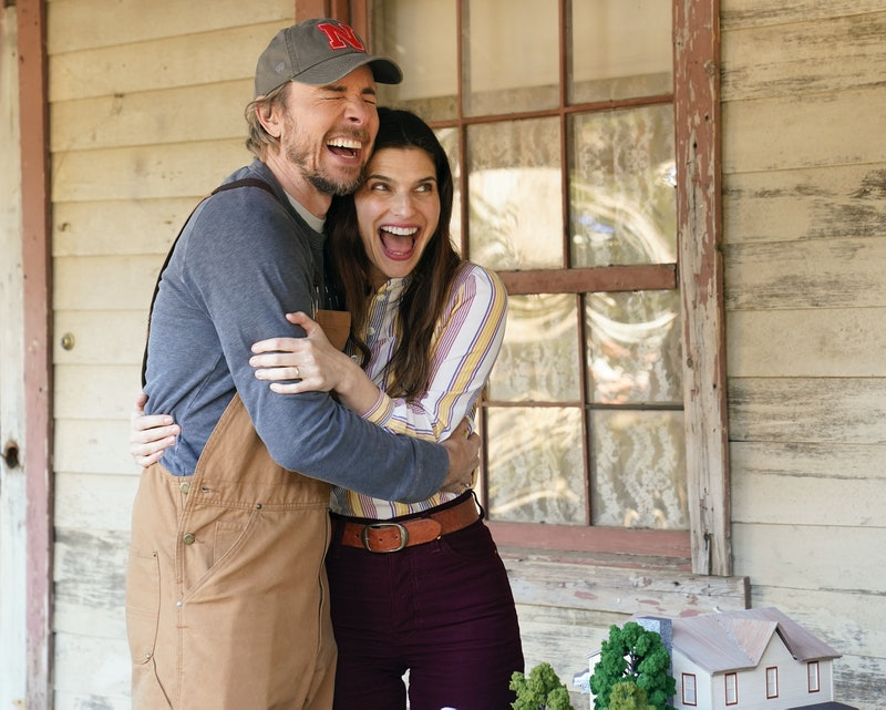 Lake Bell and Dax Shepherd on Bless This Mess