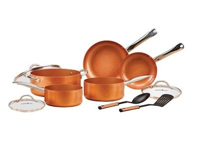 Copper Chef 10-Piece Non-Stick Pan Set