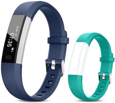 TOOBUR Fitness Activity Tracker Watch for Kids (2-Pack)
