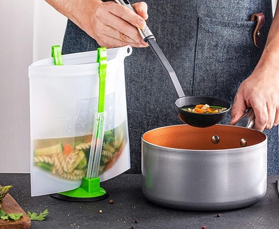 Home Hero Reusable Silicone Food Bags (7-Pack)