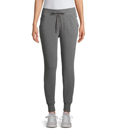 Athletic Works Women's Athleisure Soft Jogger Pants in Charcoal Grey Heather