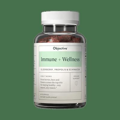 Objective Wellness Immune + Wellness Gummies