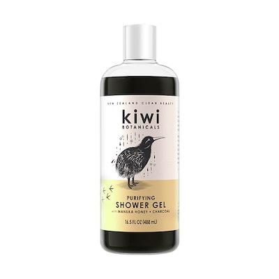Purifying Shower Gel with Manuka Honey + Charcoal