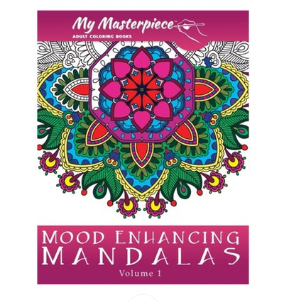 My Masterpiece Adult Coloring Books: Mood Enhancing Mandalas (Paperback)