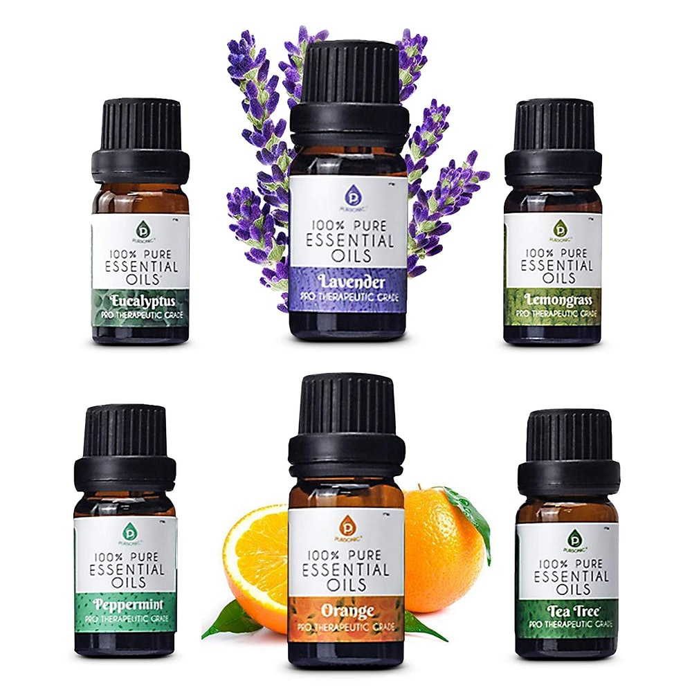 Pursonic 100% Pure Essential Aromatherapy Oils