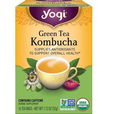 Yogi Tea - Green Tea Kombucha (6 Pack)
