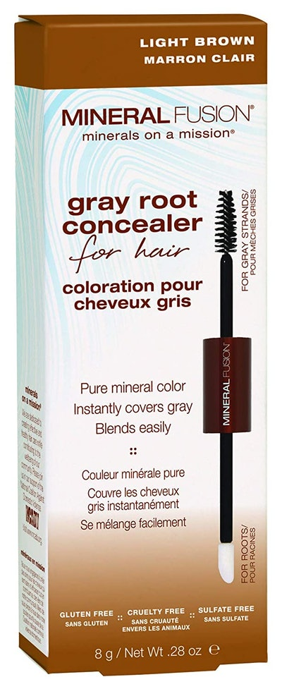 Mineral Fusion Gray Root Concealer for Hair