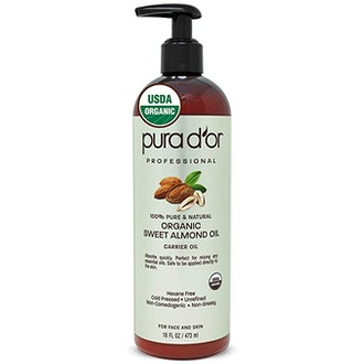 PURA D'OR Organic Sweet Almond Oil