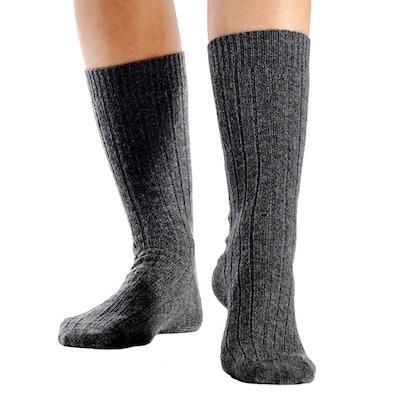 Cashmere Boutique: 100% Pure Cashmere Unisex Socks