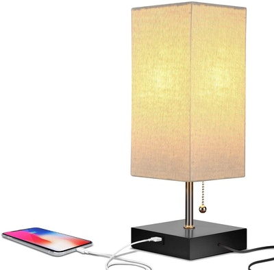 Brightech Table Lamp with USB Port