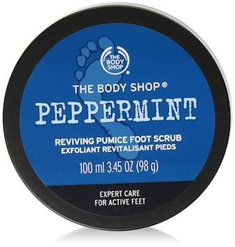 The Body Shop Peppermint Exfoliating Foot Scrub