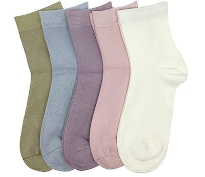 SERISIMPLE Bamboo Sock (5-Pack)