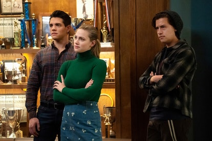 Kevin, Betty, and Jughead on Riverdale
