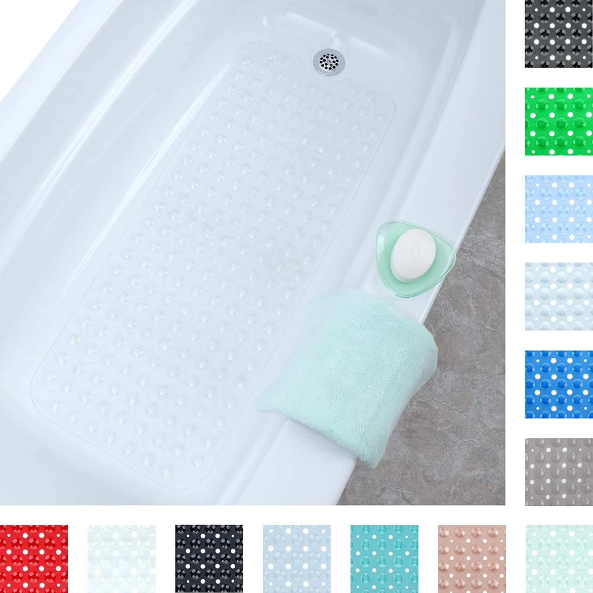 SlipX Solutions Extra Long Bath Mat